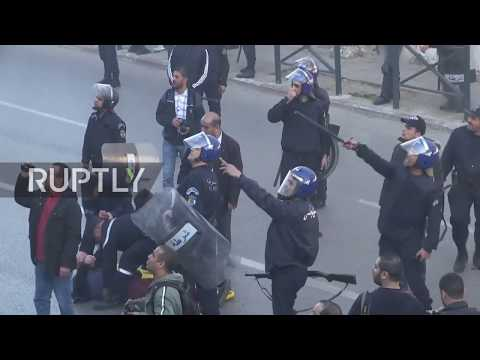 Algeria: Clashes erupt as protesters rally against Bouteflika bid for fifth term