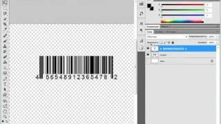Видео урок №4 Photoshop (новичкам, рисуем штрих-код)