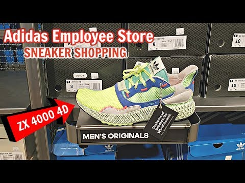 ZX 4000 4D at Adidas Employee Store!