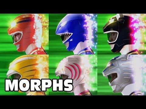 Power Rangers Official | Wild Force - All Ranger Morphs