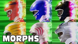 Power Rangers Wild Force - All Ranger Morphs | Episodes 1-40 | It's Morphin Time | Superheroes
