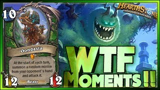 WTF Hearthstone Daily Funny Rng Moments