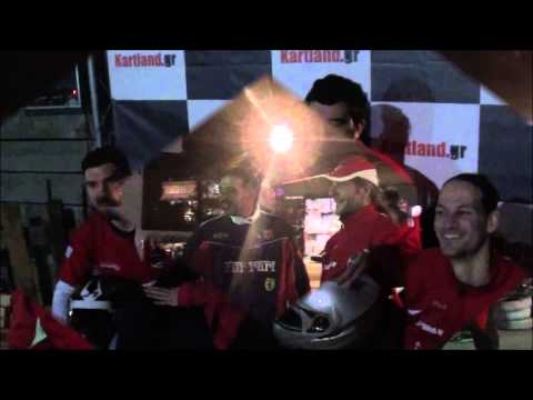F1 Fans Kart Challenge Athens 2015 -Night - Race 3 Group 1