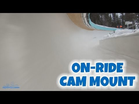 Olympic Bobsled Track Cam Mount On-ride (HD POV) Olympic Park Utah