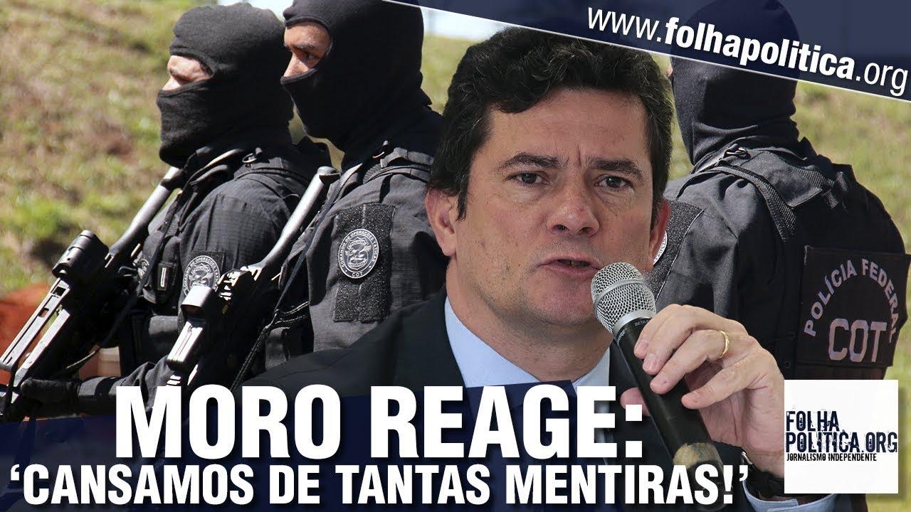Resultado de imagem para Sergio Moro faz seu mais forte pronunciamento: 'Cansamos de tantas mentiras!' - General Mourão - STF