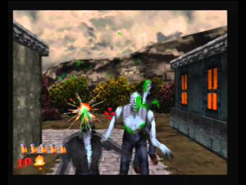 Sega Saturn A Z The House Of The Dead Gameplay Youtube