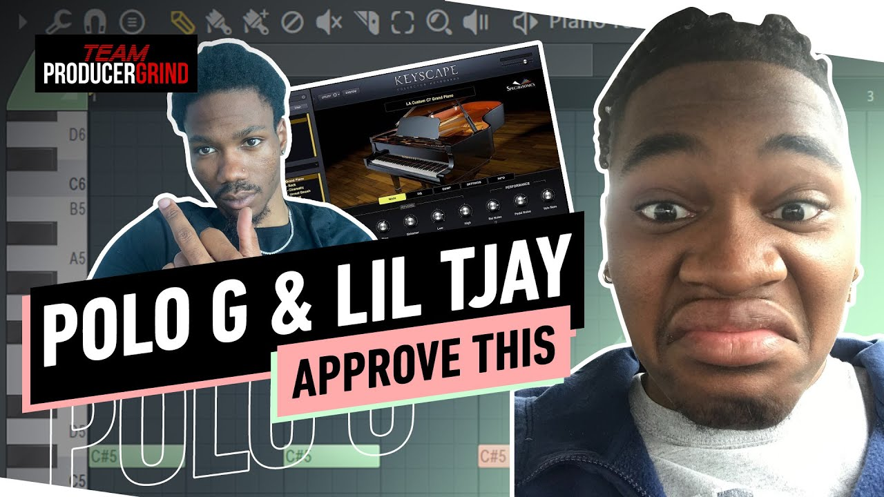 How To Make Melodic Beats Polo G & Lil Tjay | FL Studio Tutorial