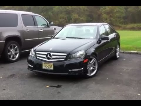 2012 mercedes c300 4matic start up, in depth tour - youtube