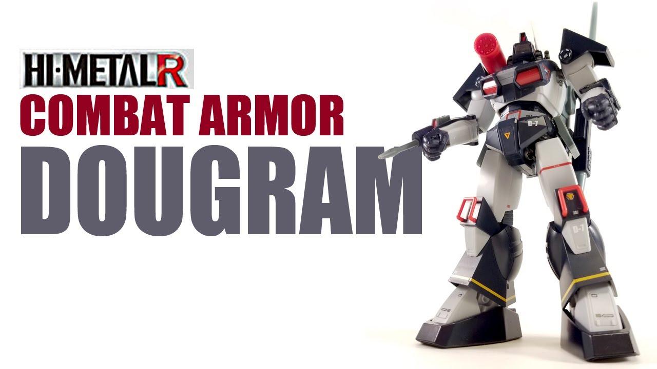 HI-METAL R Fang of the Sun Dougram Combat Armor SOLTIC H8 ROUNDFACER NEW BANDAI