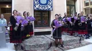 Presentación de la Alcaldesa y  Damas Ferias y Fiestas  2014 16/6/2014 (1)