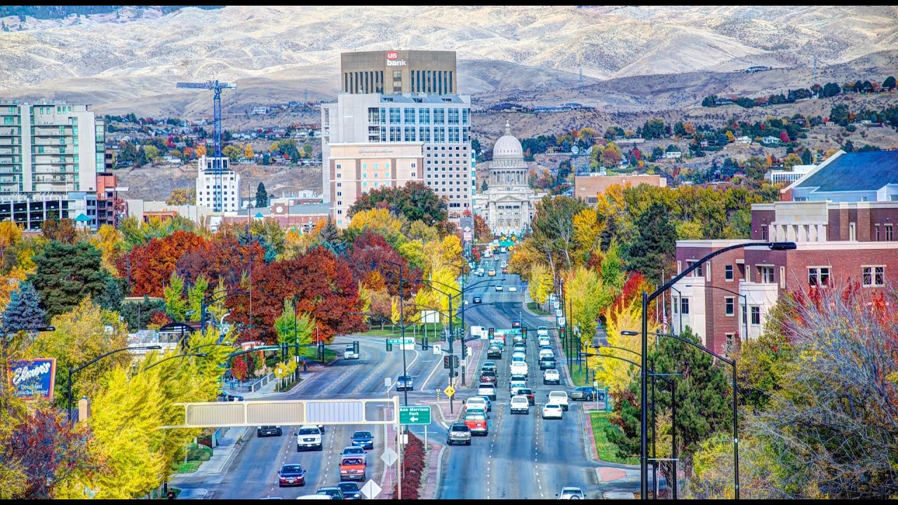 Boise idaho youtube for Best city to leave in usa