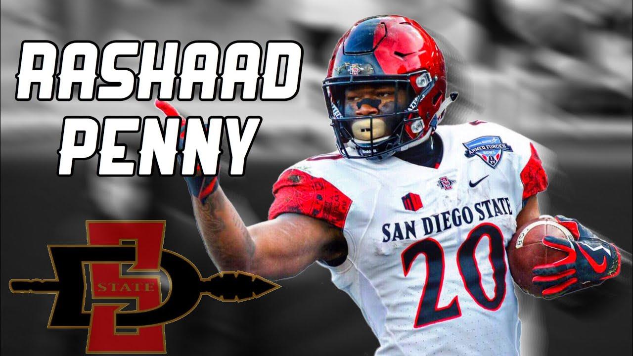 the best attitude 9ec9c 08ac0 Rashaad Penny Highlights HD   San Diego State   2018 NFL Draft