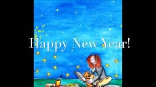 Frohes Neues Jahr Happy New Year Bonne Année