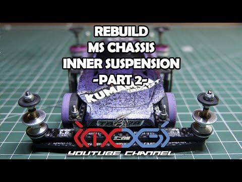 [ミニ四駆] Rebuild My Machine MS Chassis Inner Suspension Part 2