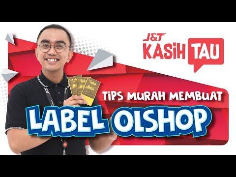 Tips Murah Membuat Label Online Shop-mu Sendiri