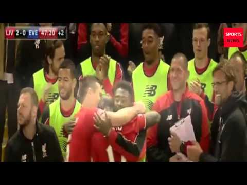 Liverpool vs Everton  4 - 0 Highlights and all goals