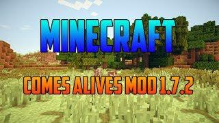 Minecraft 1.7.2 - Como Descargar e Instalar Comes Alives MOD - ESPAÑOL
