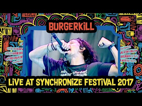 Burgerkill Live at SynchronizeFest - 7 Oktober 2017