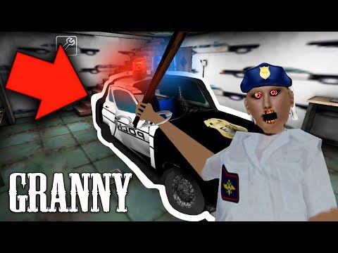 GRANNY PUT US IN JAIL!! Granny Police Mod Gameplay