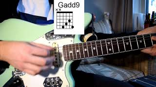 Steve Lacy - Playground Guitar Lesson