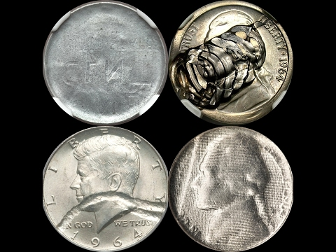 Searching Pocket Change for Valuable Struck Through Errors - How Many  Different Types are There?