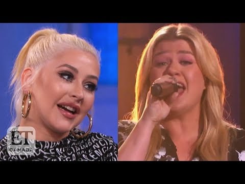 Christina Aguilera Reacts To Kelly Clarkson's 'Ain't No Other Man' Cover
