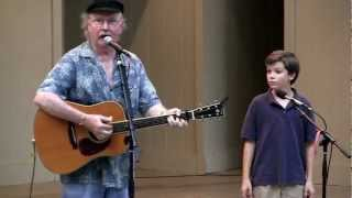 The Marvelous Toy - Tom Paxton (with Sean Silvia) at Mason District Park in Annandale, VA