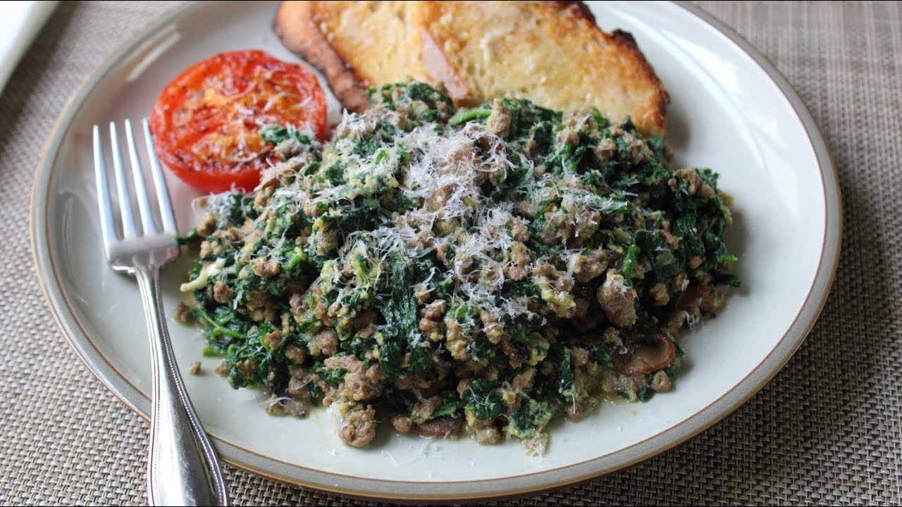 Joe S Special Original Joe S Ground Beef Spinach