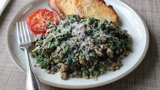 Joe's Special - Original Joe's Ground Beef & Spinach Scramble