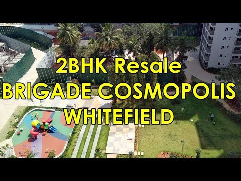 Brigade Cosmopolis Whitefield 2BHK Condo resale on 13th Floor Walkthrough