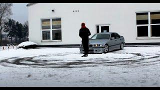 First Snow Drift BMW E36