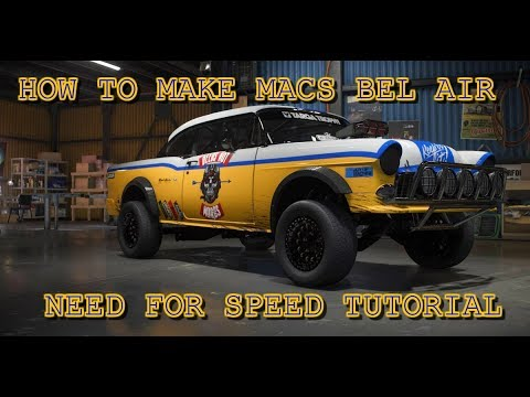 How To Build Macs Offroad Bel Air Need For Speed Payback Youtube