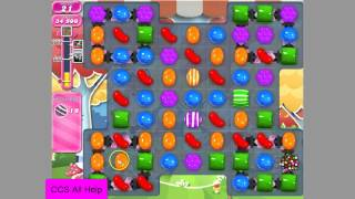 Candy Crush Saga Level 1204 NO BOOSTERS