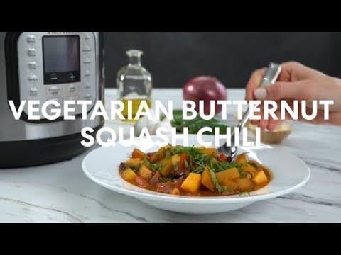 Instant Pot Vegetarian Butternut Squash Chili