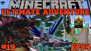 Minecraft: Ultimate Adventure - DOUBLE KRAKEN BOSS FIGHT! - EPS4 Ep. 19 - Let's Play Modded Survival