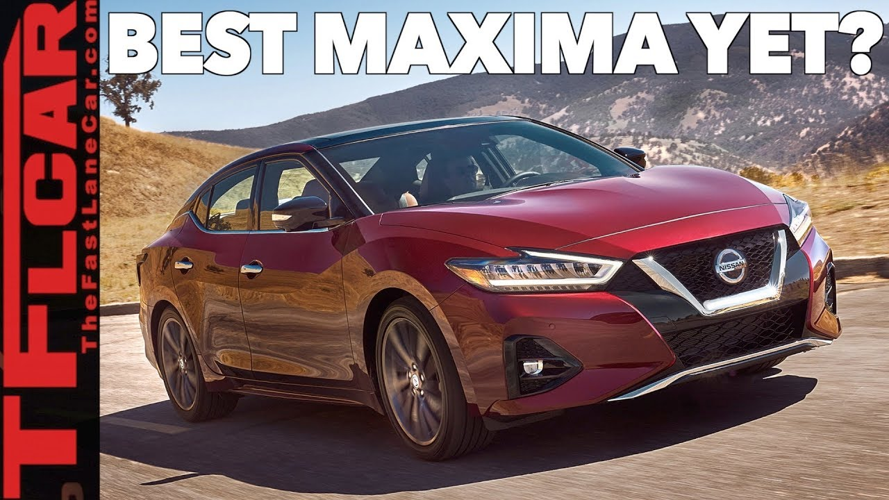 2019 Nissan Maxima: This is Everything That's New! - YouTube
