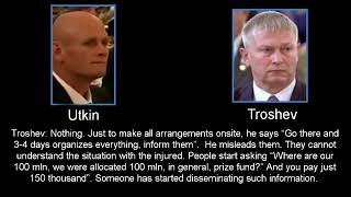 "Dmitriy ""Wagner"" Utkin to his Chief of Staff - Troshev (a.k.a. Sedoi)"