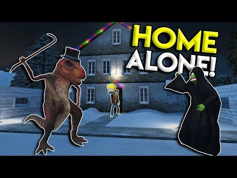 HOME ALONE TRAP CHALLENGE! - Garrys Mod Roleplay Gameplay - Gmod Multiplayer Sandbox