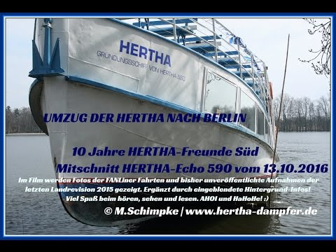 HERTHA`s Umzug nach Berlin-TOP NEWS beim Hertha-Echo 590