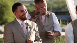 Best groom reaction ever!