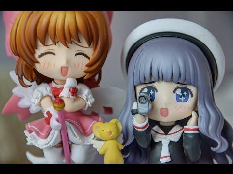 Sakura And Tomoyo Nendoroid Review + Unboxing