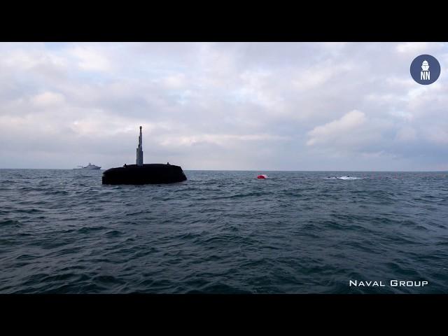 French Navy's Next Gen SSN Suffren Begins Sea Trials
