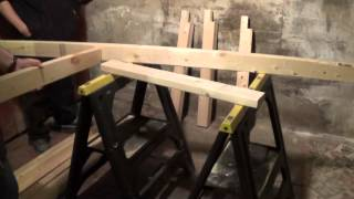 How To Build A Sturdy Work Bench For Under $100 -diy Daddy