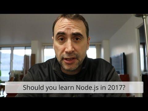Should you Learn Node js in 2017