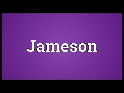Jameson Meaning