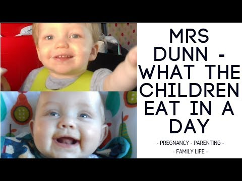 What the Children Eat in A Day | Mrs Dunn