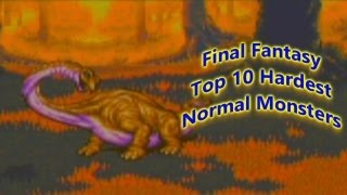 Final Fantasy Top 10 Difficult Normal Battles