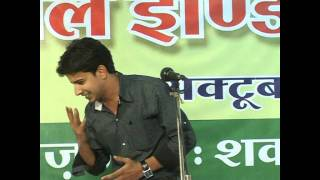 nadeem shad in ujjain mushaira-outstanding performance...
