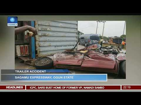News@10: FAAN Explains Leaking Roof At MMIA, Lagos 28/06/17 Pt. 2