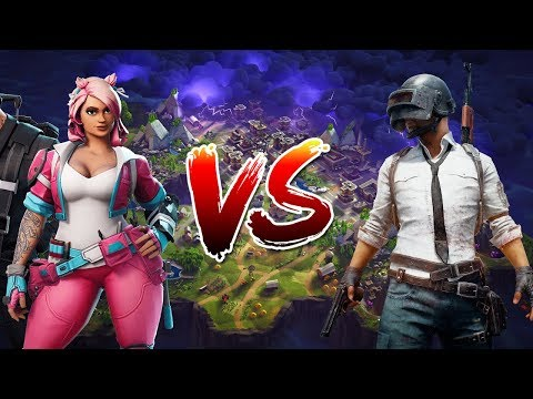 Player Unknown's Battleground VS. Fortnite's Battle Royale
